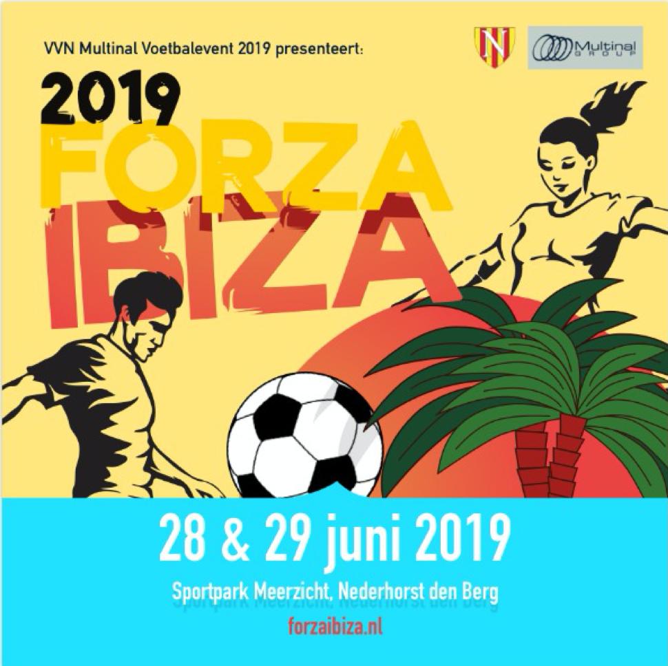 Programma VVN Multinal Voetbalvent 2019