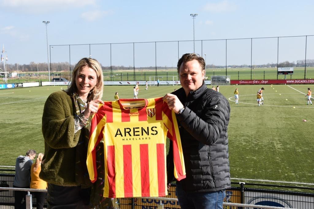 Nieuwe shirtsponsor: ARENS MAKELAARS