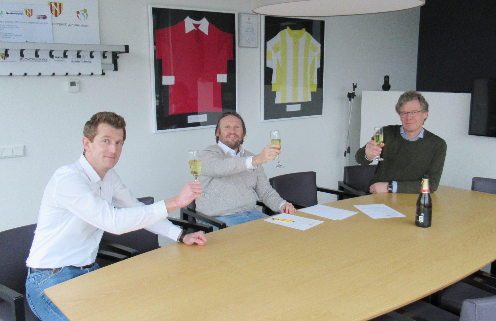 Remco Sint verlengt contract bij Voetbalvereniging Nederhorst